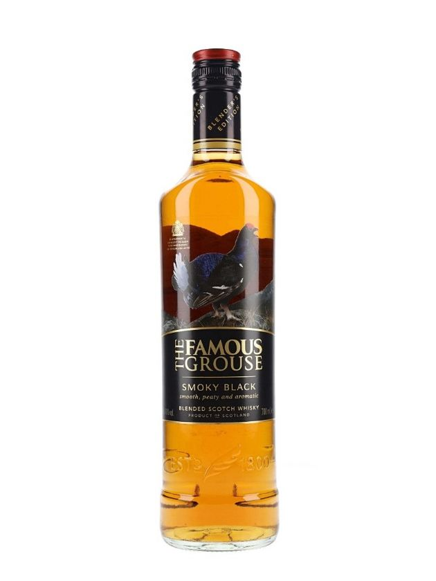 The Famous Grouse Smoky Black Whisky 70 cl
